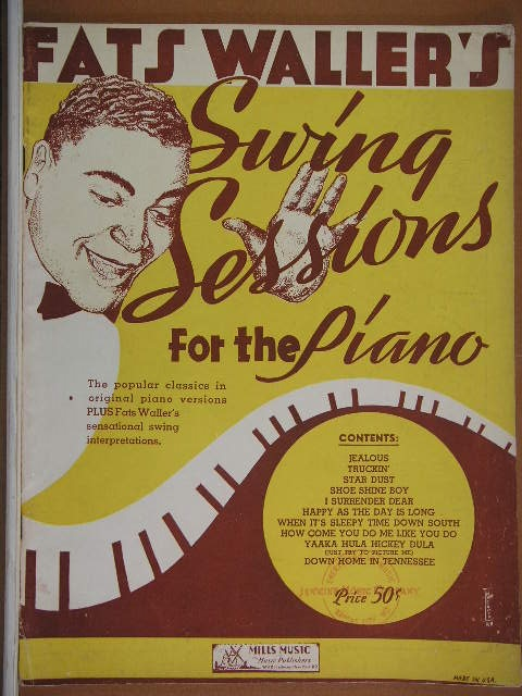 Image for ALBUM: Fats Waller's Swing Sessions