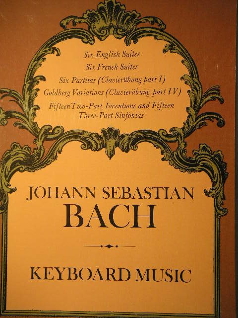Image for Bach: Keyboard Music