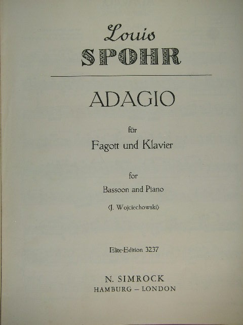 Image for Adagio