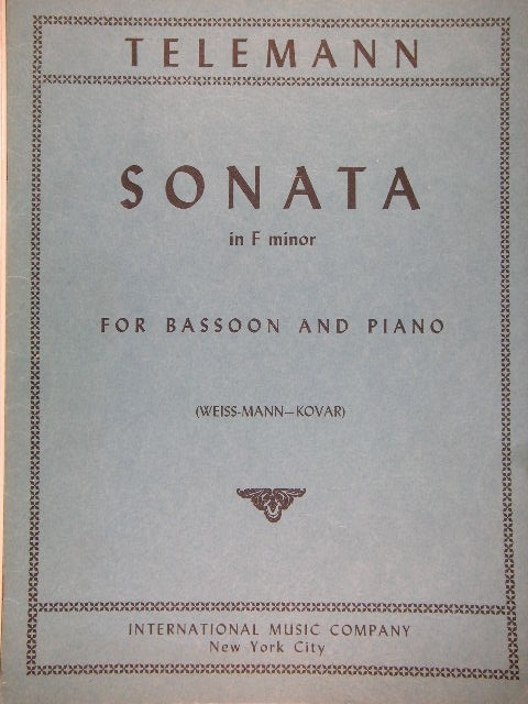 Image for Sonata in F minor