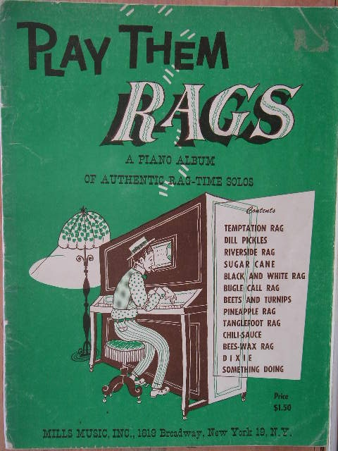Image for ALBUM: Play Them Rags