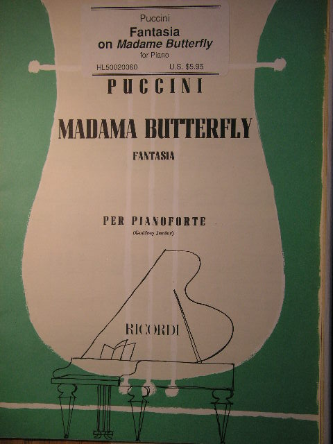 Image for Fantasia on Madame Butterfly