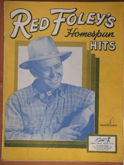 Image for ALBUM: Red Foley's Homespun Hits