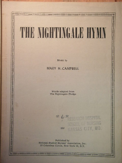Image for The Nightingale Hymn