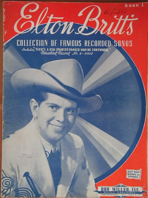 Image for ALBUM: Eldon Britt's Collection of Famous Recorded Songs, Book 1