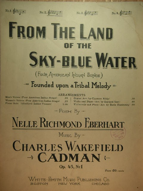 Image for From the Land of the Sky-Blue Water Op. 45 No. 1