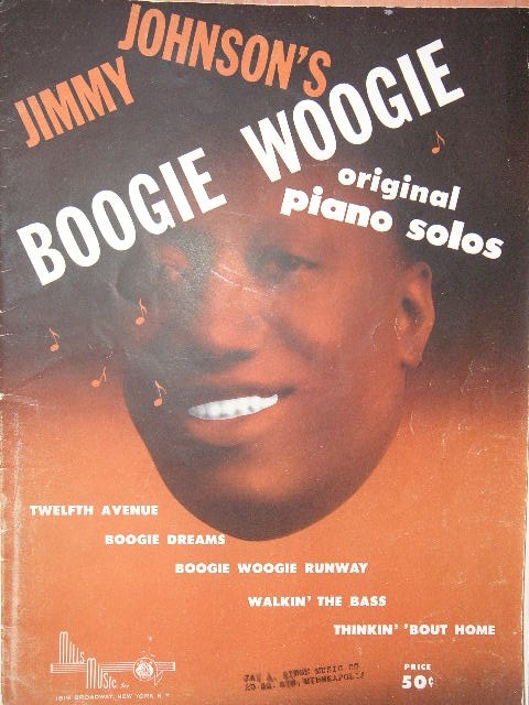 Image for ALBUM: Boogie Woogie original piano solos
