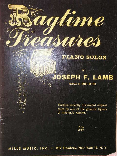 Image for ALBUM: Ragtime Treasures
