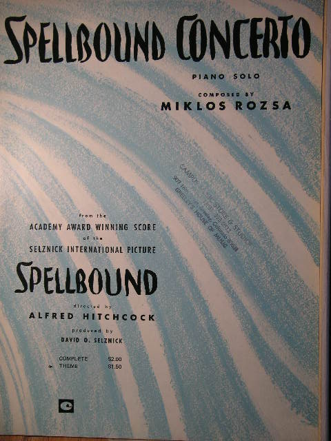 Image for Spellbound Concerto (Theme)