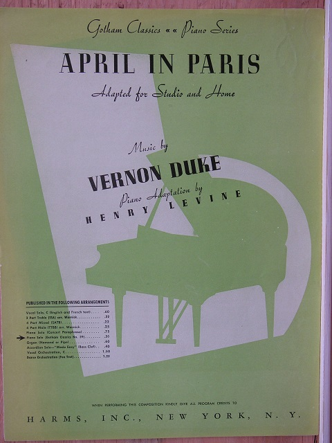 Image for April in Paris