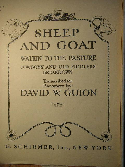Image for Sheep and Goat