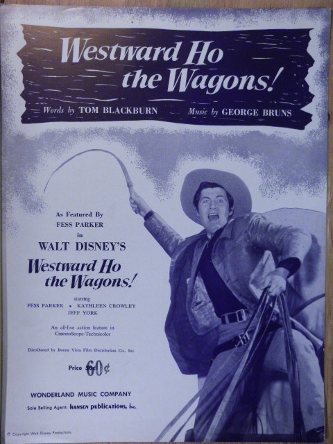 Image for Westward Ho the Wagons!