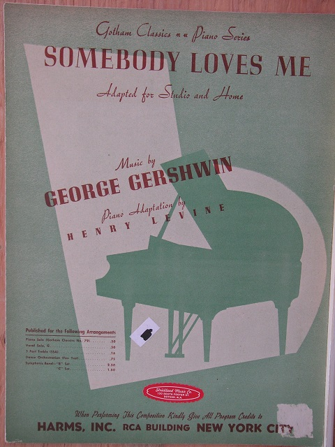 Image for Somebody Loves Me