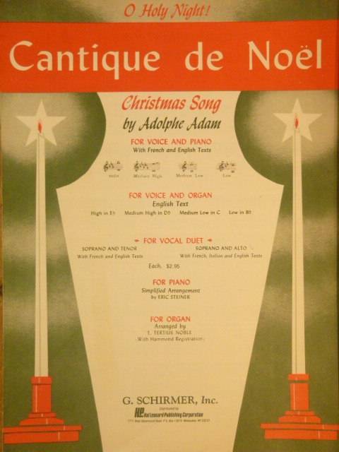 Image for Cantique de Noel