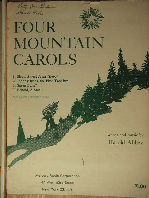 Image for Four Mountain Carols