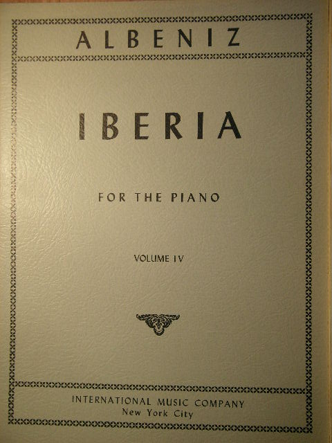Image for Iberia (Vol. IV)