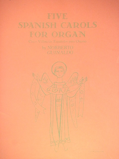 Image for ALBUM: Five Spanish Carols for Organ