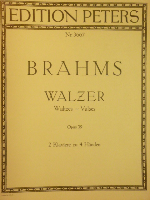 Image for Walzer Op. 39