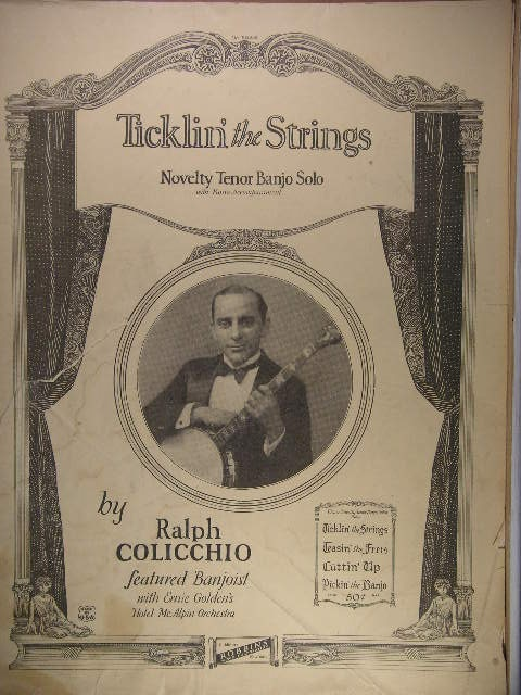 Image for Ticklin' the Strings