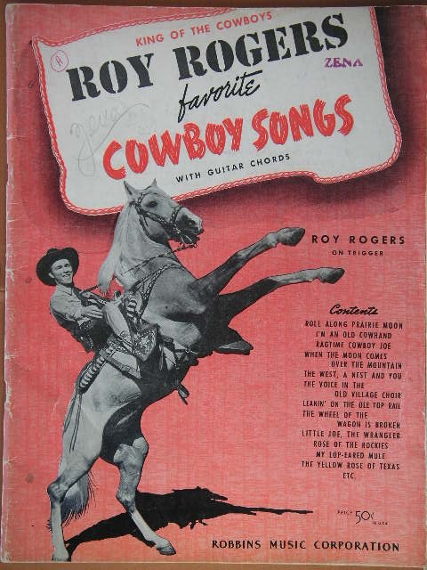 Image for ALBUM: Roy Rogers Favorite Cowboy Songs