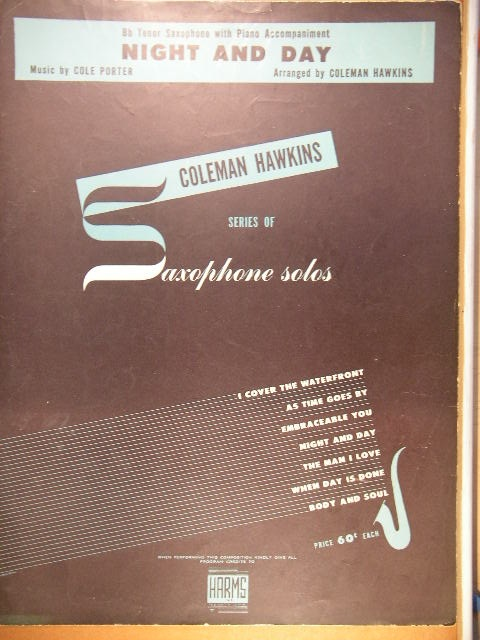 Image for COLLECTION: Seven Saxophone solos by Coleman Hawkins