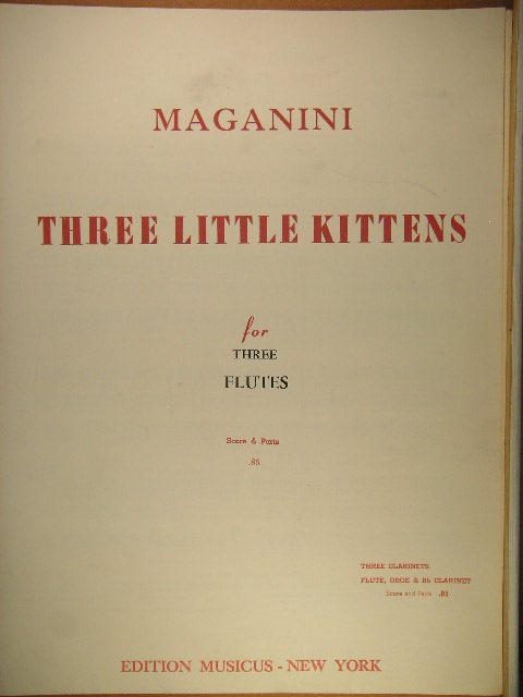 Image for Three Little Kittens