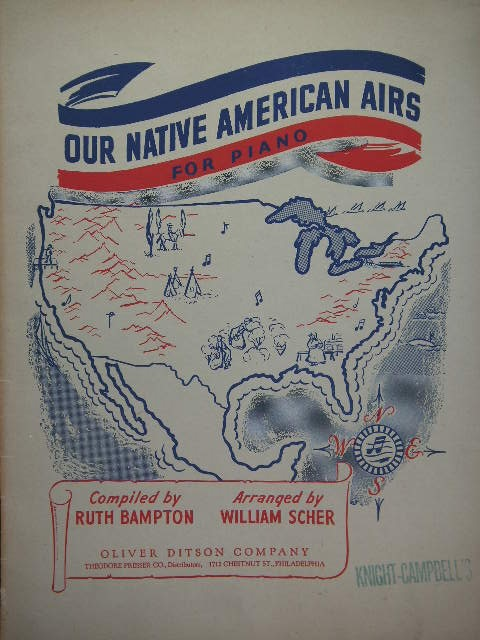 Image for ALBUM: Our Native American Airs for Piano
