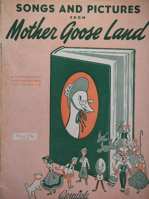 Image for ALBUM: Songs and Pictures from Mother Goose Land