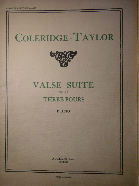 Image for Three-Fours (Valse Suite) Op. 71