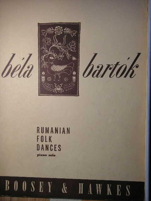 Image for Rumanian Folk Dances