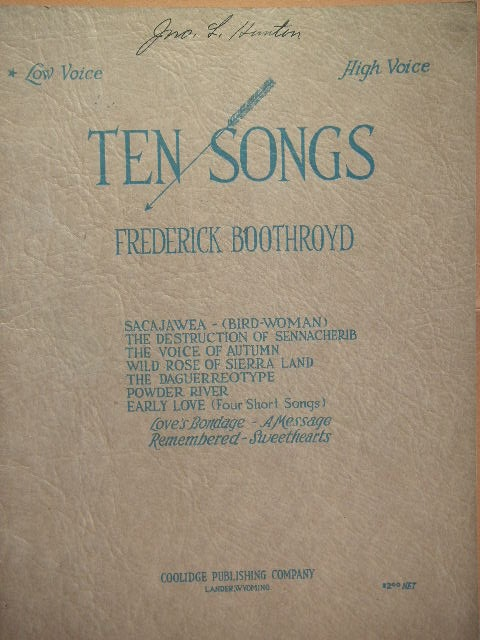 Image for Ten Songs