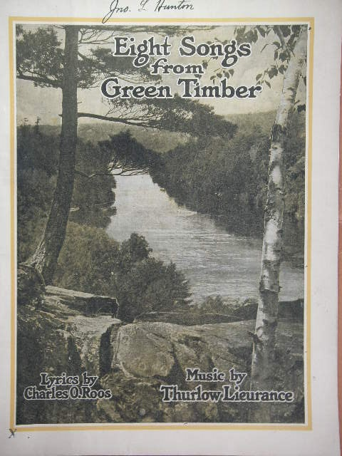 Image for Eight Songs from Green Timber