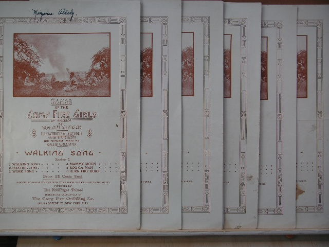 Image for COLLECTION: Seven Songs of the Camp Fire Girls