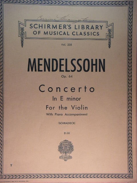 Image for Concerto for Violin