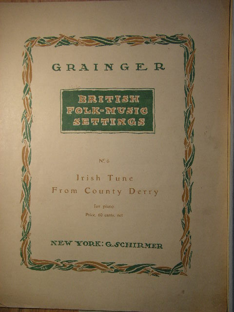 Image for Irish Tune from County Derry